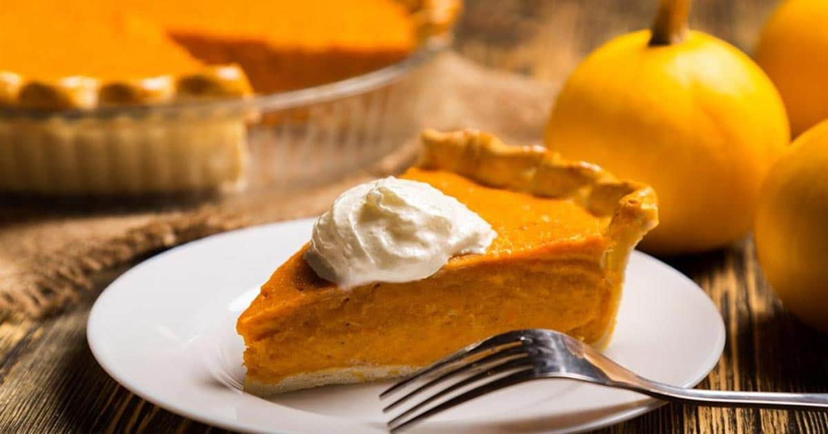 What's Thanksgiving Without Pumpkin Pie?