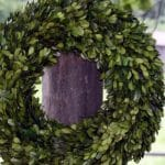 Advantages Of A Preserved Boxwood Wreath