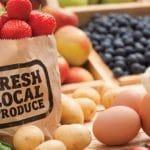Shopping Local Farmers Markets